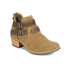 UGG Women's Patsy Heeled Suede Ankle Boots - Chestnut: Image 5