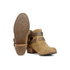 UGG Women's Patsy Heeled Suede Ankle Boots - Chestnut: Image 6
