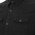 BLK DNM Men's Fitted Denim Shirt - Pocono Black: Image 3