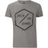Jack & Jones Men's Core Hex T-Shirt - Grey Marl: Image 1