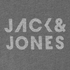 Jack & Jones Men's Core Take T-Shirt - Light Grey Melange: Image 3