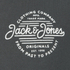 Jack & Jones Men's Originals Smooth Sweatshirt - Raven: Image 3