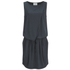Gestuz Women's Clary Mini Dress with Tie Waist - Anthracite: Image 1