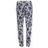 MICHAEL MICHAEL KORS Women's Zip Pocket Printed Trouser - New Navy: Image 2