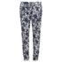 MICHAEL MICHAEL KORS Women's Zip Pocket Printed Trouser - New Navy: Image 1