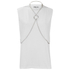 McQ Alexander McQueen Women's Chain Top - Optic White: Image 1