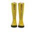 Ilse Jacobsen Women's Lace Up Tall Rubber Boots - Cyber Yellow: Image 2