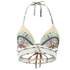 Paolita Women's Chariots Artemisia Bikini Top - Multi: Image 1