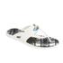 Vivienne Westwood MAN Men's Enamelled Orb Flip Flops - Pure White: Image 3