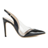 Vivienne Westwood Women's Caruska Sling Back Court Shoes - Black/Clear: Image 1