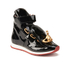 Vivienne Westwood Women's Tongue Orb Hi-Top Trainers - Black Patent: Image 4