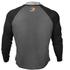GASP Raglan Long Sleeve T-Shirt - Dark Grey: Image 2