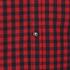 Produkt Men's Long Sleeved Checked Shirt - Rio Red: Image 3