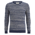 Folk Men's Crew Neck Knit Jumper - Ecru/Bright Navy: Image 1