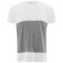 Folk Men's Colour Block T-Shirt - White/Grey: Image 1