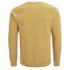 Folk Men's Plain Crew Neck Sweatshirt - Washed Out Amber: Image 2