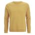 Folk Men's Plain Crew Neck Sweatshirt - Washed Out Amber: Image 1