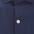 Folk Men's New Piano Short Sleeve Shirt - Navy Texture: Image 3