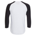 Produkt Men's 3/4 Raglan Sleeve Top - Black: Image 2