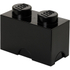 LEGO Storage Brick 2- Black