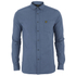Lyle & Scott Men's Mouline Oxford Shirt - Navy: Image 1