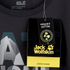 Jack Wolfskin Men's Slogan T-Shirt - Phantom: Image 4