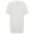 Designers Remix Women's Rion Knot T-Shirt - White: Image 4