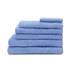 Highams 100% Egyptian Cotton 6 Piece Towel Bale (550gsm) - Blue: Image 1