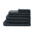 Highams 100% Egyptian Cotton 7 Piece Towel Bale (550gsm) - Charcoal: Image 1