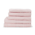 Highams 100% Egyptian Cotton 6 Piece Towel Bale (550gsm) - Pink: Image 1