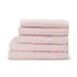 Highams 100% Egyptian Cotton 6 Piece Towel Bale (550gsm) - Pink: Image 1