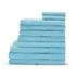 Highams 100% Egyptian Cotton 10 Piece Towel Bale (550gsm) - Sky
