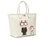Karl Lagerfeld Women's K/Robot Shopper Karl & Choupette Bag - Cream: Image 3