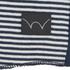 Edwin Men's Engineered Fine Rib Striped T-Shirt - Navy/ White: Image 3