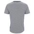 Edwin Men's Engineered Fine Rib Striped T-Shirt - Navy/ White: Image 2