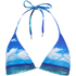 Orlebar Brown Women's Nicoletta Hulton Getty Mustique Mystique Bikini Top - Blue: Image 1