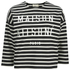 Maison Kitsuné Women's Marin Cropped Sweatshirt - Black: Image 1