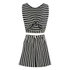 Maison Kitsuné Women's Marin Bali Dress - Black/White: Image 7