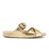 MICHAEL MICHAEL KORS Women's Sawyer Slide Sandals - Pale Gold: Image 1