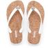 MICHAEL MICHAEL KORS Women's Jet Set MK Jelly Sandals - Optic White: Image 1