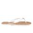 MICHAEL MICHAEL KORS Women's Jet Set MK Jelly Sandals - Optic White: Image 2