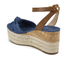 MICHAEL MICHAEL KORS Women's Maxwell Mid Wedge Sandals - Denim: Image 4