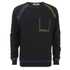 MSGM Men's Stitched Jumper - Black: Image 1