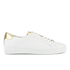 MICHAEL MICHAEL KORS Women's Irving Lace Up Trainers - White: Image 1