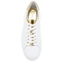 MICHAEL MICHAEL KORS Women's Irving Lace Up Trainers - White: Image 3