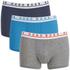 BOSS Hugo Boss Men's 3 Pack Boxer Shorts - Multi: Image 1