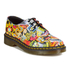 Dr. Martens 1461 Flat Shoes - Multi Kaboom: Image 5