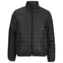 Brave Soul Men's Laing Matt Padded Jacket - Black: Image 1
