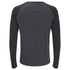 Brave Soul Men's Monacle Striped Raglan Long Sleeve Top - Black: Image 2