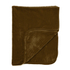 Luxurious Mink Faux Fur Throw - Chocolate: Image 1
